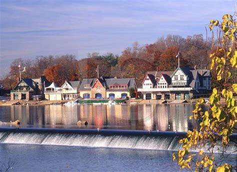 Buy A Boat Philadelphia by Boathouse Row With Fall Color