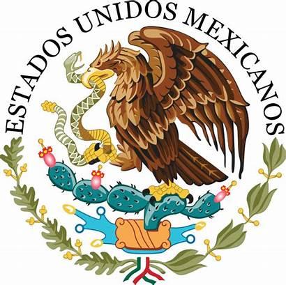 Mexico Seal Svg Government Escudo Mexican Bandera