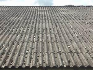 Renovation Toiture Fibro Ciment Amiante : toles fibrociment d samiantage ~ Nature-et-papiers.com Idées de Décoration