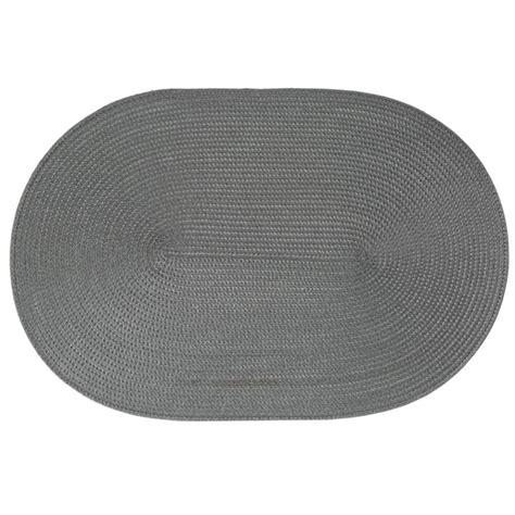 voilages cuisine originaux set de table ovale gris