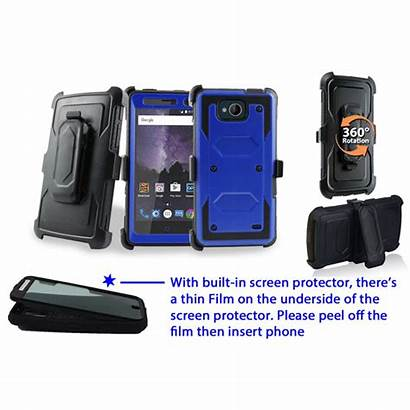 Phone Case Zte Proof Shock Cases Stand