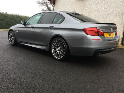 Bmw Number by Bmw 5 Series F10 530d Space Grey Personalised Number Plate