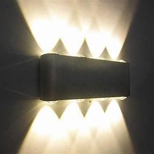 Wandleuchten Led Innen Modern : kaleep led 8w modern design wand wandleuchte wandlampe wa trend 2019 ~ Orissabook.com Haus und Dekorationen