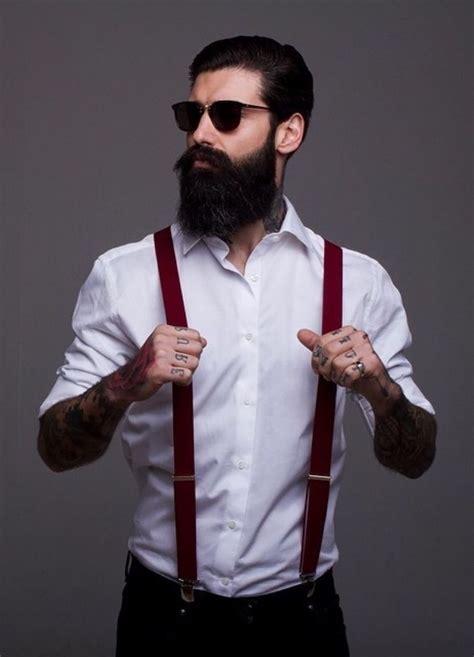 ideen fuer hipster bart und coole  von maennern