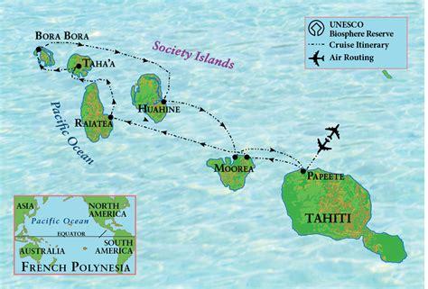 Cruising Tahiti And French Polynesia Trojan Travel
