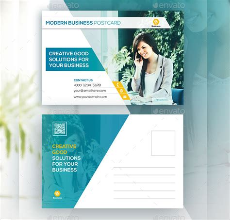 modern postcard templates psd ai indesign word