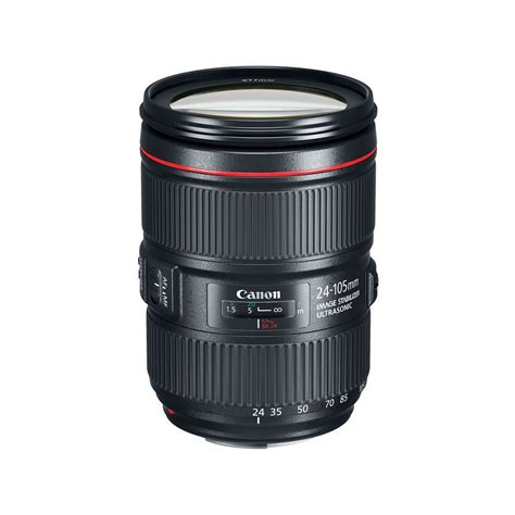 canon ef 24 105mm f 4l is ii usm lens 1380c002