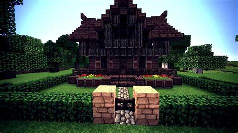 minecraft medieval witch house  youtube