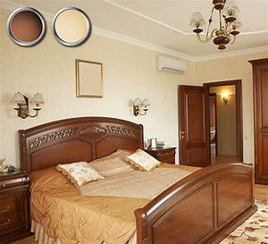 Bedroom Color Combination With Brown Furniture - Bedroom