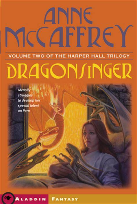 dragonsinger harper hall   anne mccaffrey reviews