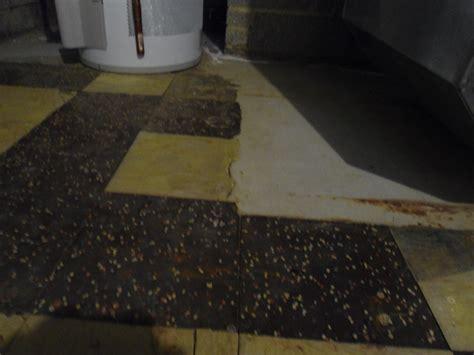 Broken Floor Tiles In Basement And Sunroom Flooring