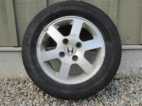 15 Inch Honda Aluminum Alloy Wheels With Tires West