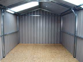 Arrow Galvanized Steel Storage Shed 10x12 by See The How To Build Small Metal Shed Goehs