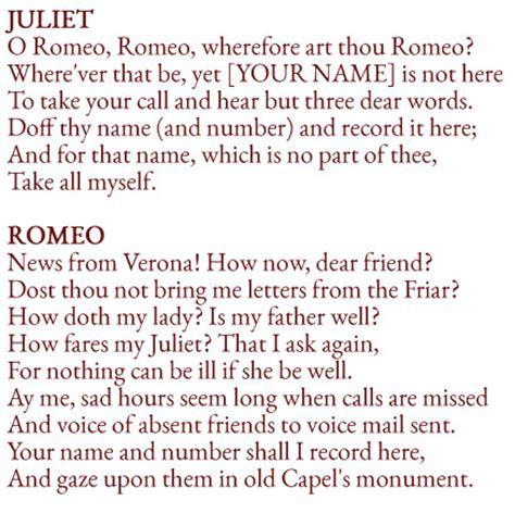 romeo and juliet play script modern like