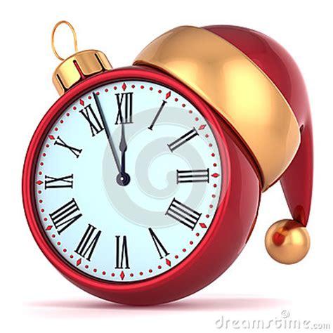 years eve alarm clock midnight royalty  stock