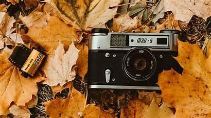 Camera Wallpapers Foliage Retro Autumn Background Film