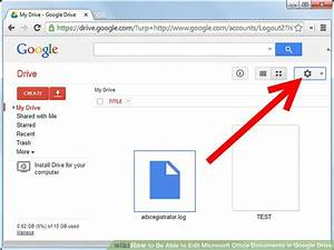 How to be able to edit microsoft office documents in for Google documents editor