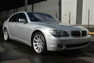 2006 Bmw 740i E65 V8 6sp Auto Sedan Auction (00015025163