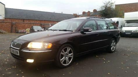 how make cars 2006 volvo v70 electronic valve timing long mot 2006 volvo v70 automatic 2 4 d5 se 5 door estate good history amazing drive