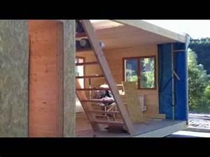 Maison Modulaire Bois : maison modulaire ossature bois youtube ~ Melissatoandfro.com Idées de Décoration