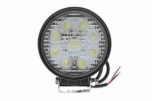 Opt off road led spot light round w mini quot work atv