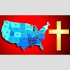 Top 10 Mostleast Religious States In America  Youtube
