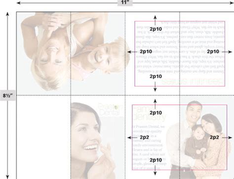template pocket size brochure before after book