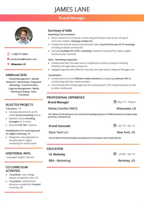 resume format  guide  examples