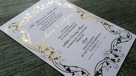diy wedding invitation kits nz foil printed wedding invitations new zealand silver gold