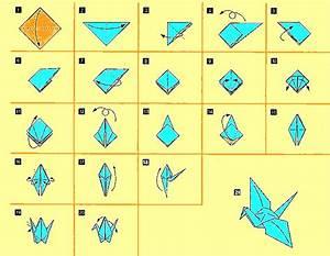 Comment Faire Des Origami : japon ori tsuru la petite grue de papier ~ Nature-et-papiers.com Idées de Décoration