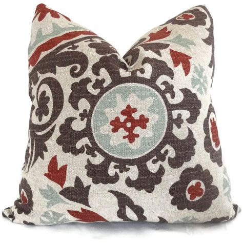 Formal Living Room Throw Pillows living room and or bedroom pillows brown aqua