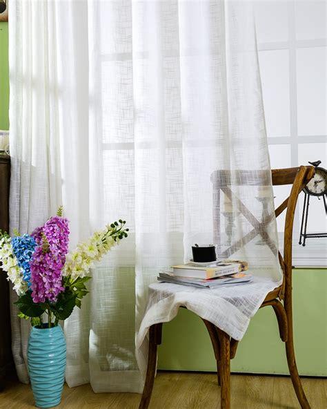 achetez en gros rideaux en voile de coton en ligne 224 des