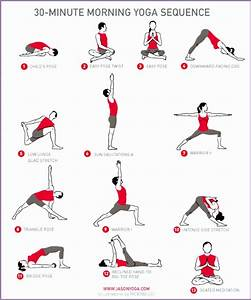 4 Yoga Sequence - Work Out Picture Media