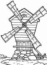 Coloring Country Pages Windmill Farm Drawing Western Windmills Cross Getdrawings Printable Getcolorings Batch Pag sketch template