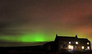 Northern Lights give dazzling display - in Yorkshire ...