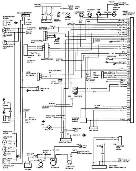 95 chevy 1500 headlight wiring diagram 38 wiring diagram