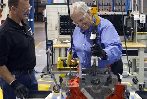 rick hendrick builds  custom engine   copo camaro