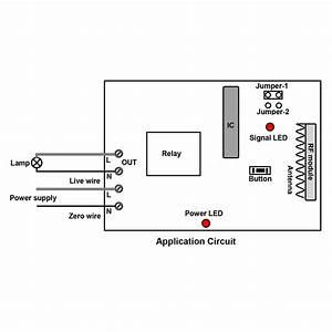 220 V Relay Output Wireless Receiver  U0026 Transmitter Of