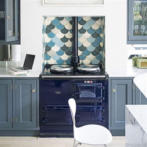 blue kitchen tiles ideas kitchen splashbacks kitchen design ideas ideal home 4833