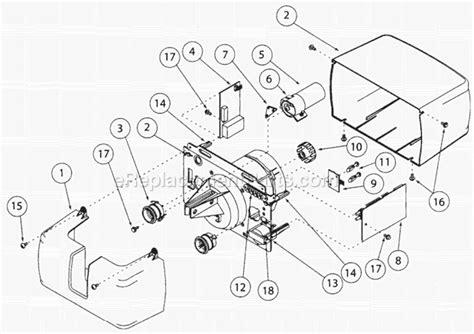 genie ac drive garage opener cm7600 ereplacementparts