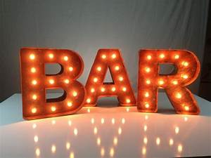 Mini vintage marquee lights who to buy for cool dad for Mini marquee letters