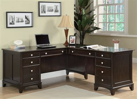 Desk For Home Office by Garson Home Office L Shaped Desk From Coaster 801011l