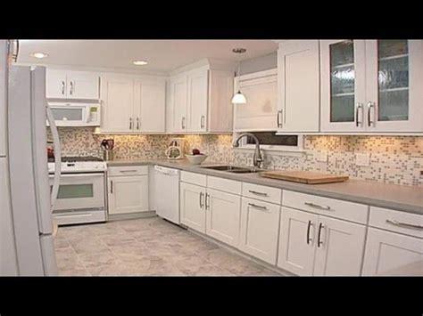 kitchen backsplash ideas  white cabinets youtube