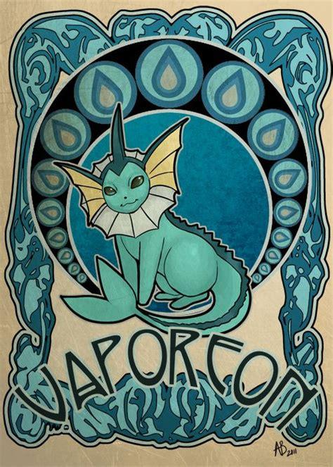 Pokemon Vaporeon Drawings