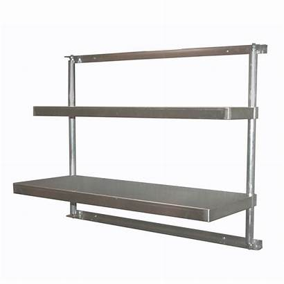 Shelving Wall Mounted Duty Heavy Shelves Cantilever
