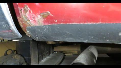 repair fiberglass metal diy rust using