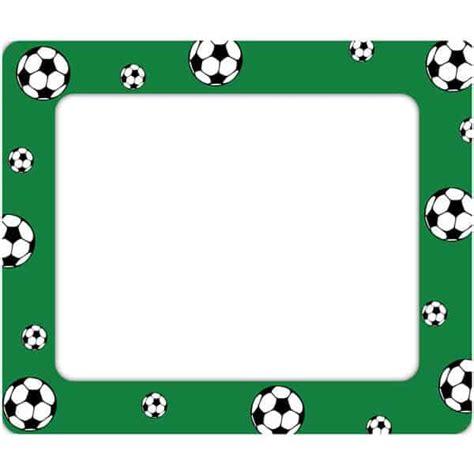 soccer restickable photo frame sticker genius