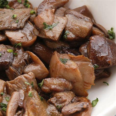 cepes cuisine recette cèpes au riesling