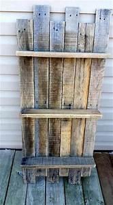 Vertical, Pallet, Shelves, For, Decorative, Display