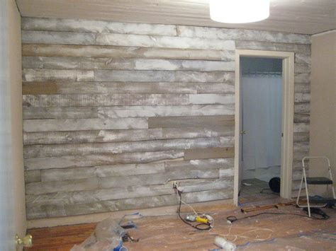 Reclaimed Shiplap by Wood Accent Wall After Being Inspired By Other Reclaimed